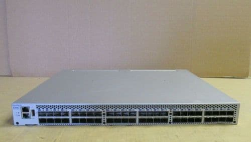 Brocade 6510 DS-6510B 48-Port FC 48 Port 16Gb Active Switch 2 Power Supplies